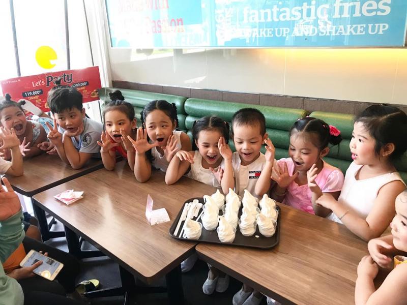 Trường Mầm Non Khai Trí sự dụng thực phẩm sạch – tươi ngon, có nguồn gốc xuất xứ và chứng nhận an toàn thực phẩm