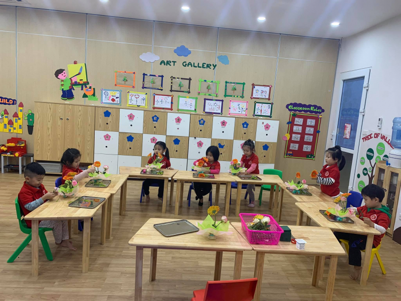 Trường Mầm non Maple Bear Hải Phòng với không gian học tập rộng rãi cho các bé