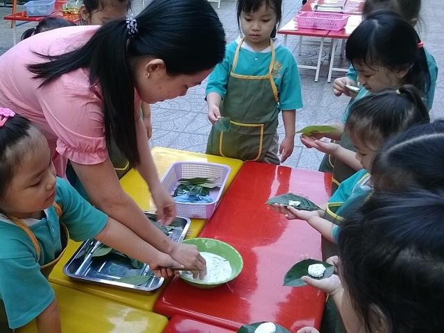 Trẻ được học hỏi những điều thú vị trong cuộc sống