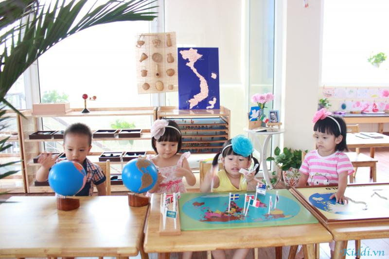 Trường Mầm non Montessori Smiling Fingers