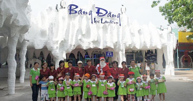 Nhà trường thường xuyên tổ chức các hoạt động vui chơi, tham quan dã ngoại