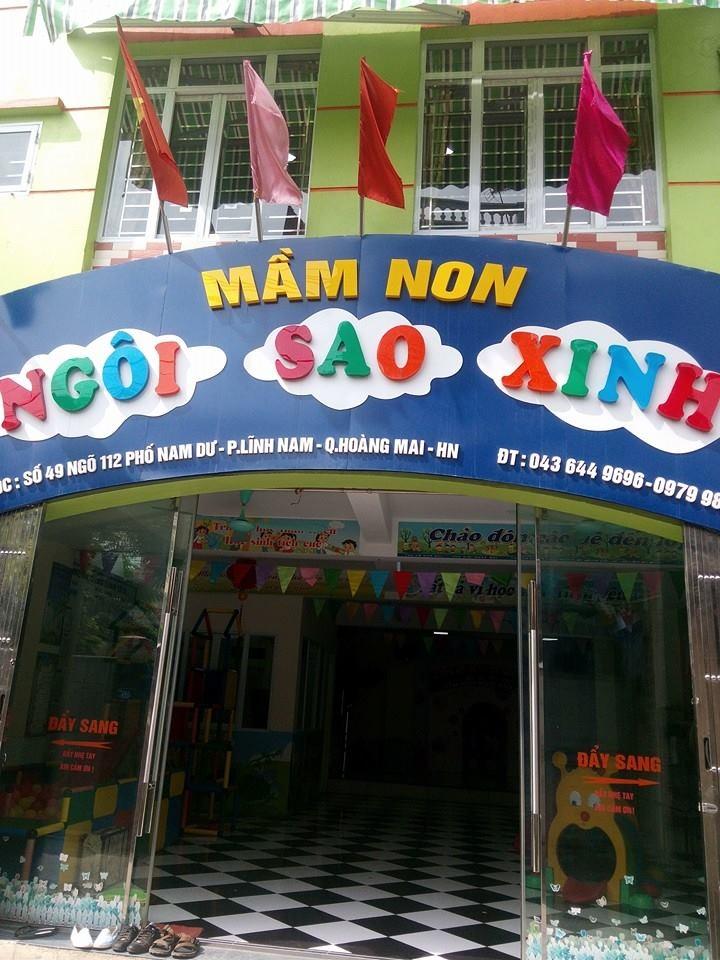 Trường Mầm non Ngôi Sao Xinh - Lĩnh Nam
