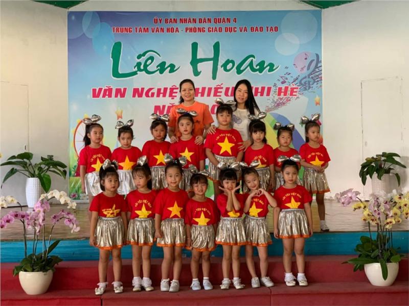 Trường MN Nguyễn Tất Thành tham gia Liên hoan văn nghệ thiếu nhi 2019