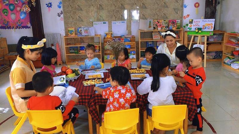 Trường mầm non Nhà Của Bé - Montessori Preschool có nhiều hoạt động thú vị