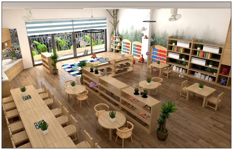 Trường mầm non Bambini Montessori Preschool Hai Duong