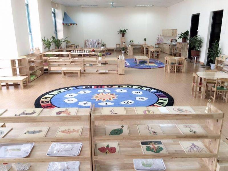 Không gian ở trường Mầm non Panda House