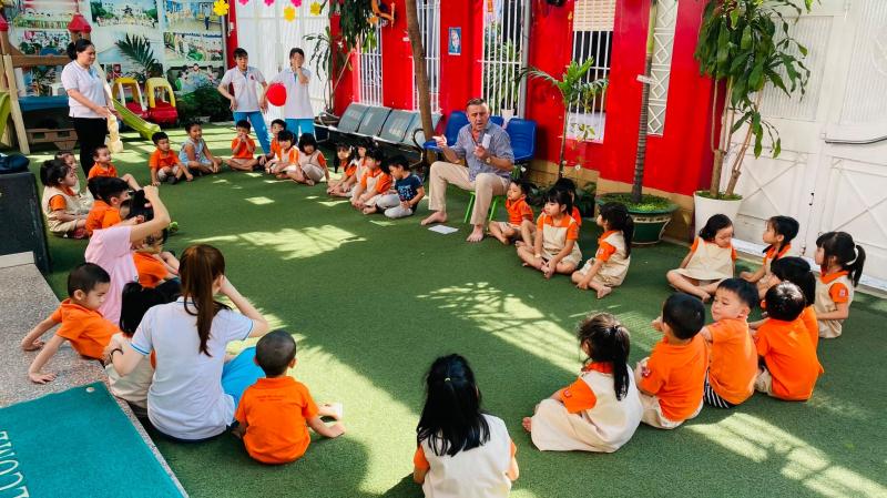 Trường Mầm non Phát triển Châu Á ADES