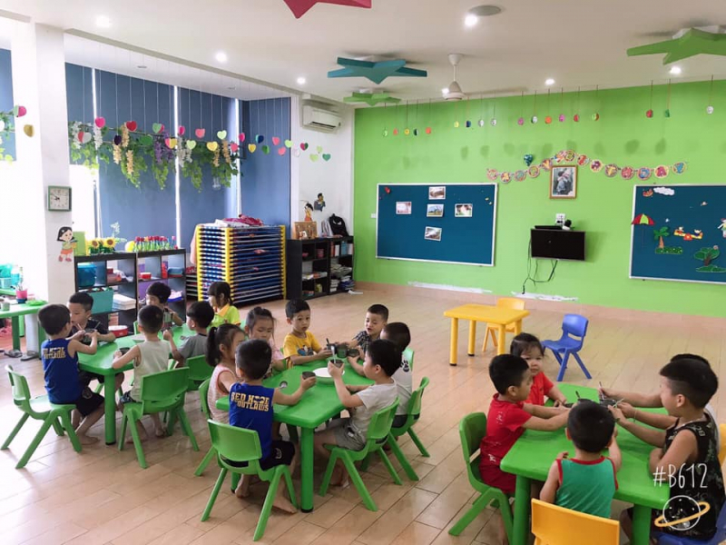 Không gian học tập và vui chơi tại Trường Mầm non Quốc tế ASEAN