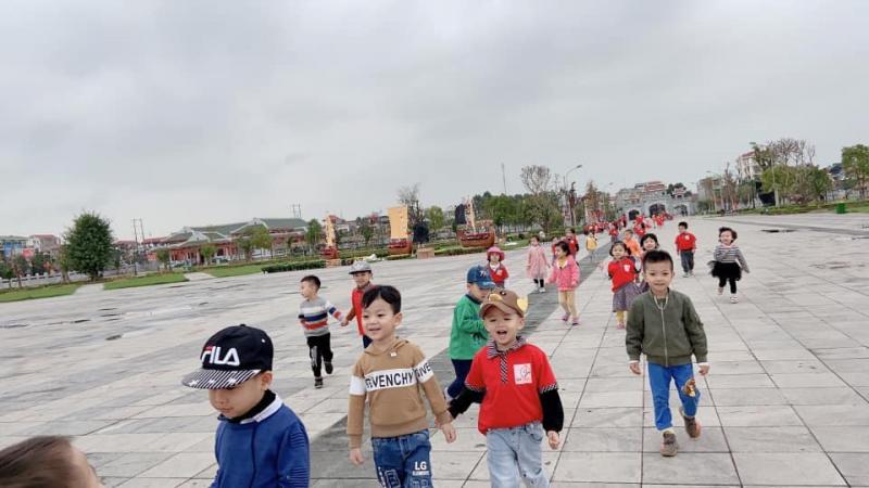 Trường Mầm non Quốc tế Baby Garden thường xuyên tổ chức các chương trình tham quan cho các bé