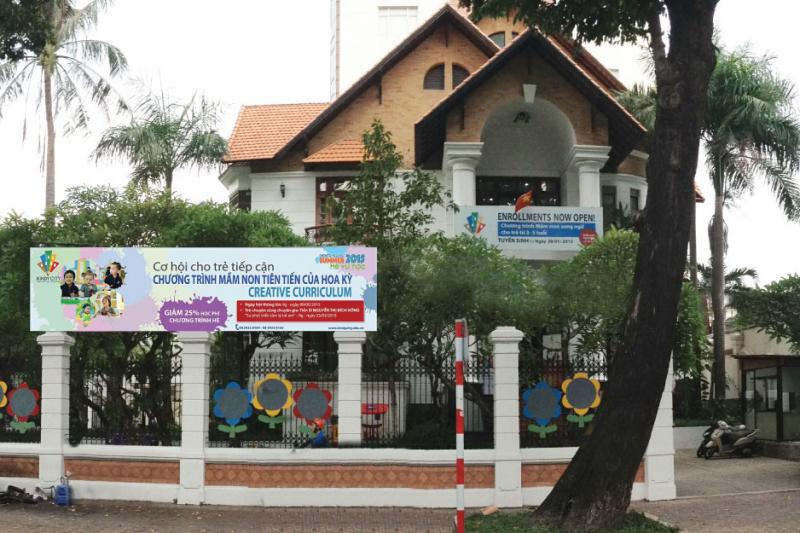 Trường Mầm non Quốc tế Kindy City - Trần Quốc Thảo