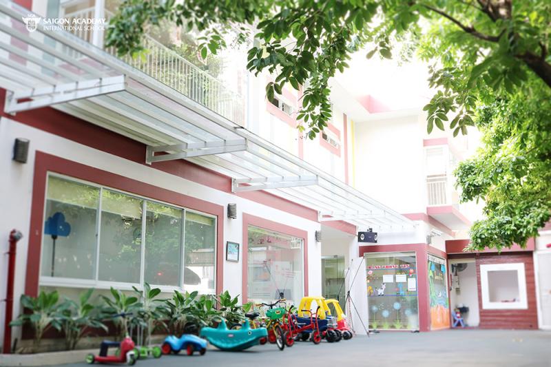 Trường mầm non Sài Gòn Academy - Hồ Biểu Chánh