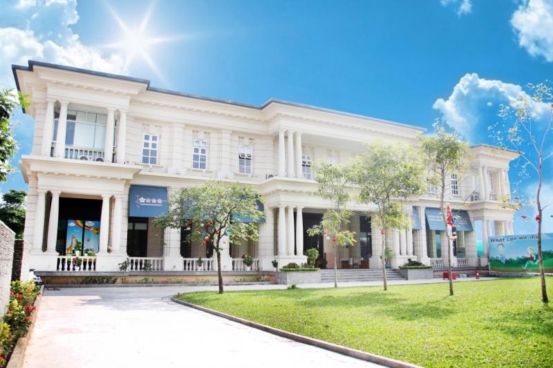 Khuôn viên trường mầm non quốc tế Sakura Montessori