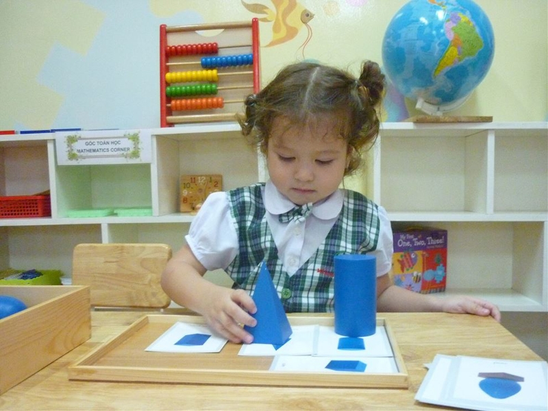 Mầm non Quốc tế Việt Mỹ phát triển tư duy logic, linh hoạt, nâng cao tính sáng tạo của trẻ