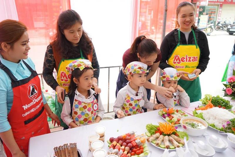Các bé được tham gia các hoạt động ngoại khóa, hội thi,.. giúp phát triển toàn diện