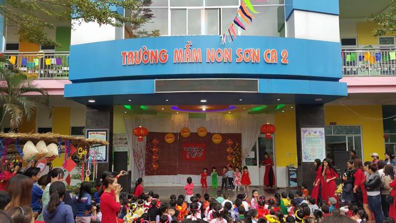 Trường mầm non Sơn Ca.