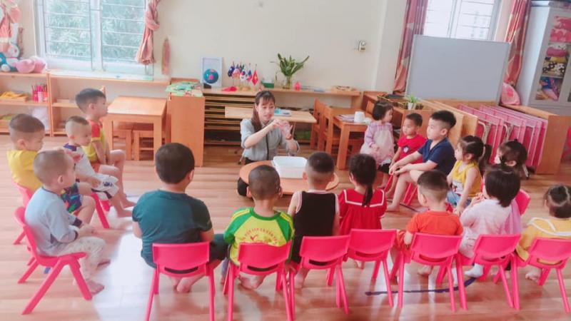 Trường Mầm Non Sơn Ca Montessori