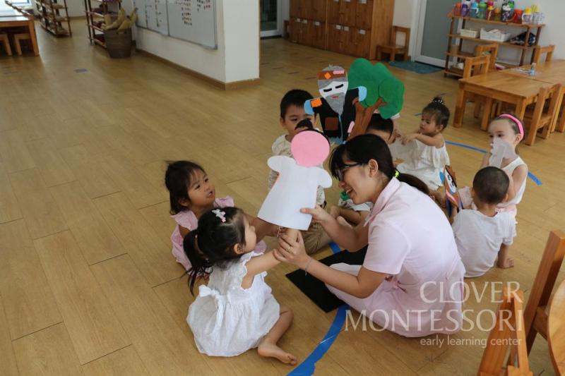Mầm non Song ngữ Clover Montessori