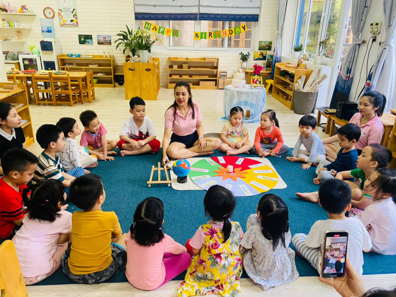 Trường Mầm Non Colourful House Montessori Preschool