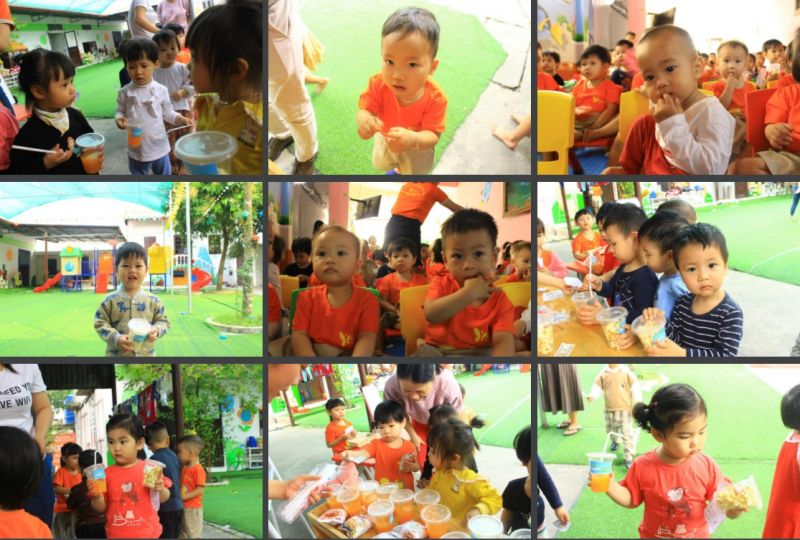 Trường mầm non Song Ngữ Happy Kids