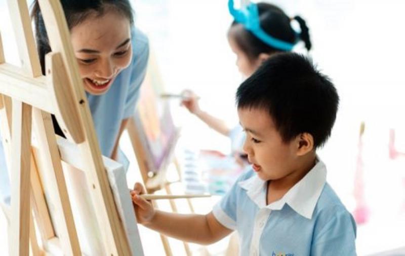 Trường Mầm non Song ngữ Hooray – Điện Biên Phủ