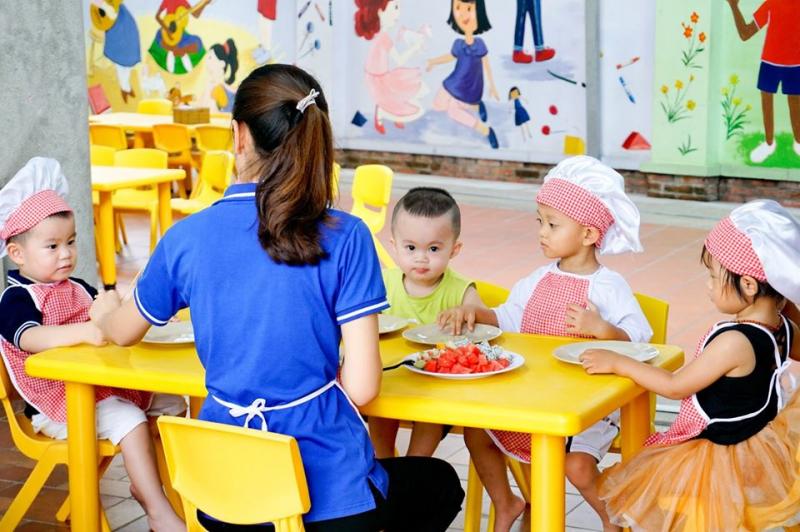 Trường Mầm Non Song Ngữ Nhóc Trùm