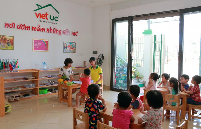 Trường Mầm non song ngữ Việt Úc - Cầu Giấy