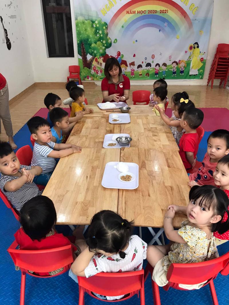 Trường mầm non Tân Trạng Nguyên