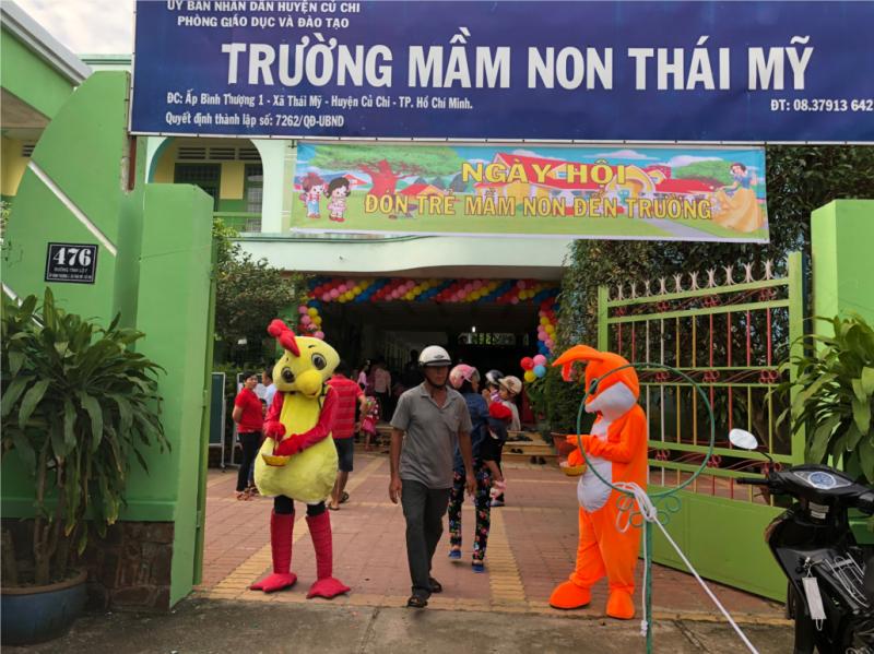 Trường mầm non Thái Mỹ