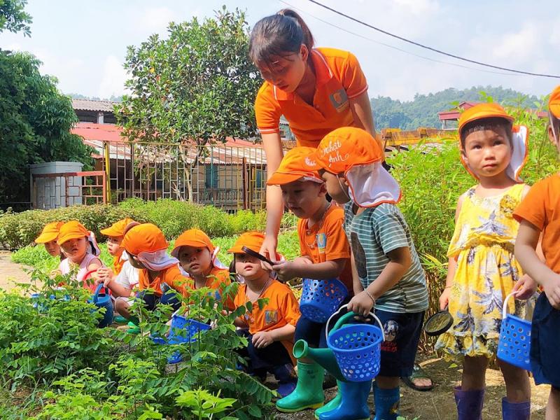 Đội ngũ giáo viên của trường đều là những cô giáo đã có chứng chỉ đào tạo Montessori cấp quốc tế, với năng lực giáo dục tốt nhất cùng với sự tận tâm, yêu nghề, yêu trẻ nhỏ