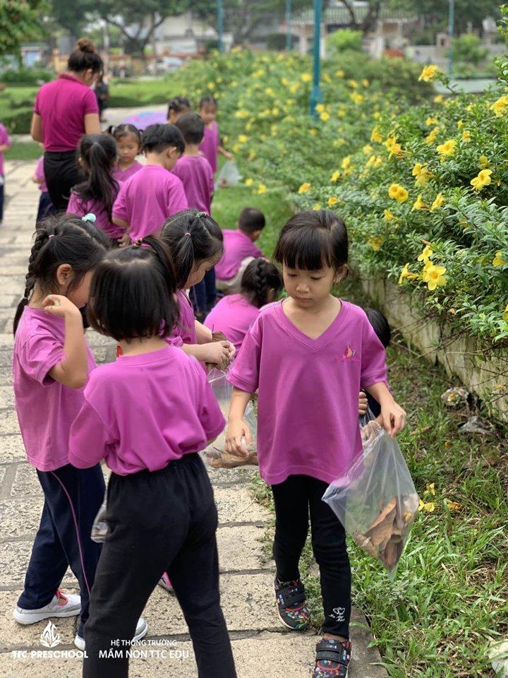 Các trẻ được tham gia các hoạt động ngoại khóa bổ ích, vui vẻ