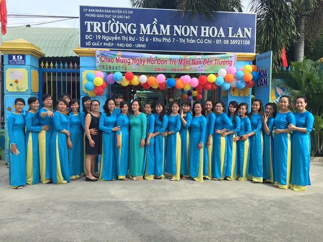 Trường mầm non tư thục Hoa Lan