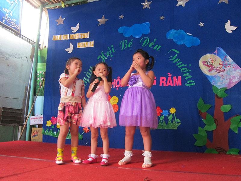 Ngày hội bé đến trường của Trường Mầm non Tư thục Hoa Trà My
