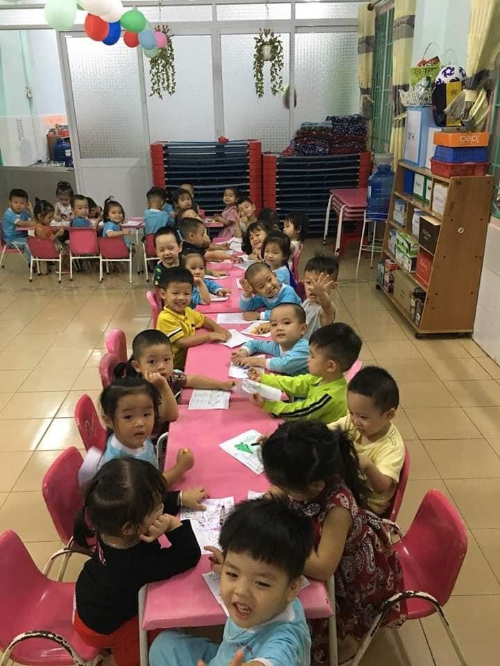 Trường Mầm Non Sơn Ca chăm sóc chu đáo, khoa học và giáo dục nghiêm túc phát hiện tiềm năng của cá nhân trẻ
