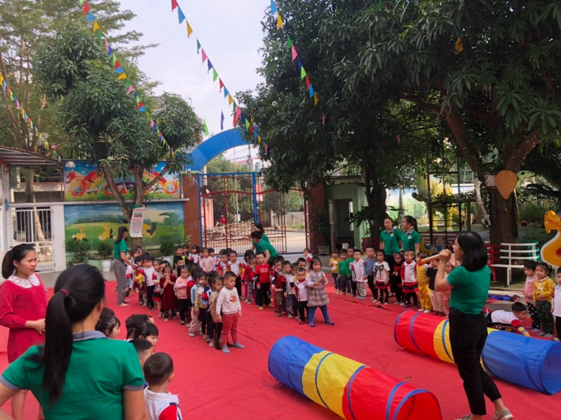 Trường Mầm Non Tuổi Thơ