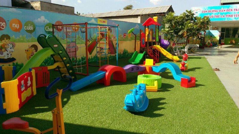 Trẻ được tham gia các hoạt động vui chơi, giải trí
