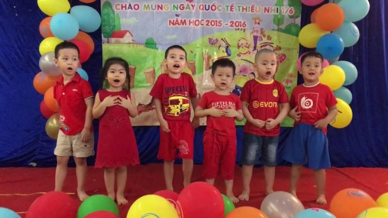 Trẻ được tham gia các chương trình văn nghê