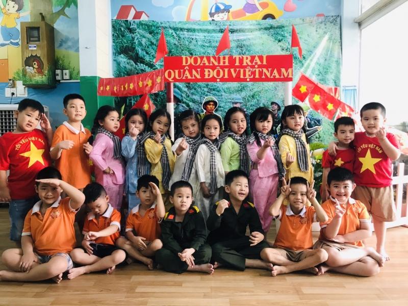 Buổi ngoại khóa tại trường Mầm non Việt Mỹ