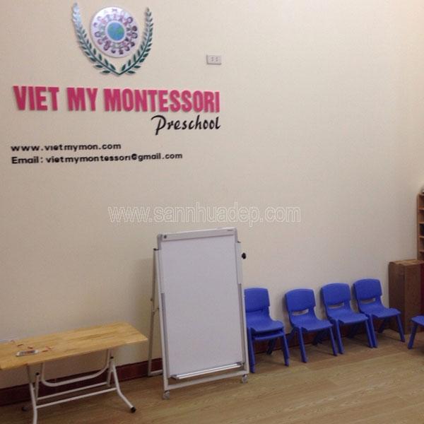 Trường mầm Non Việt Mỹ Montessori - Linh Đàm