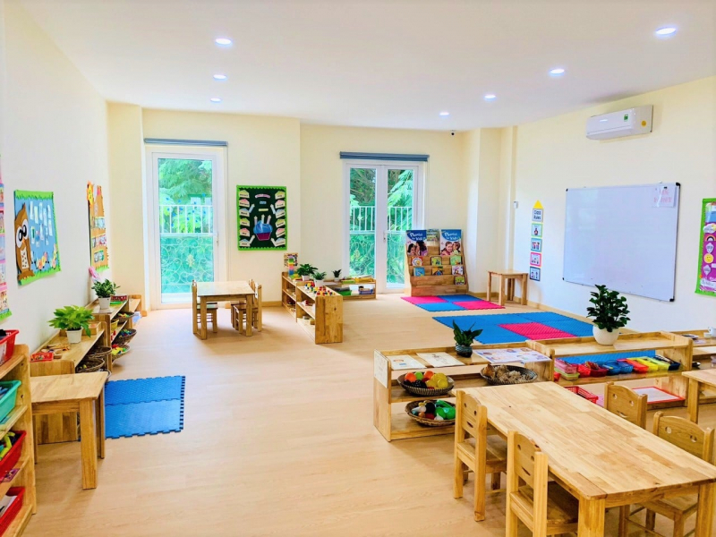 Trường Mầm Non Vùng Đất Trẻ Thơ