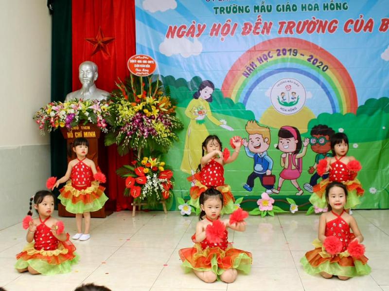 Trường mẫu giáo Hoa Hồng