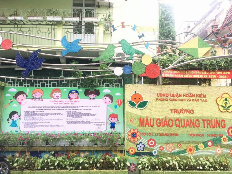 Trường mẫu giáo Quang Trung