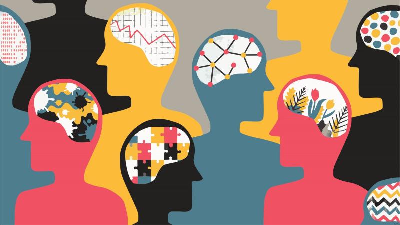 Tâm lý học nhận thức nghiên cứu những tiến trình tinh thần cao hơn, như nhận biết, ký ức, sử dụng ngôn ngữ, giải quyết vấn đề và đưa ra quyết định ở nhiều cấp độ cao thấp khác nhau