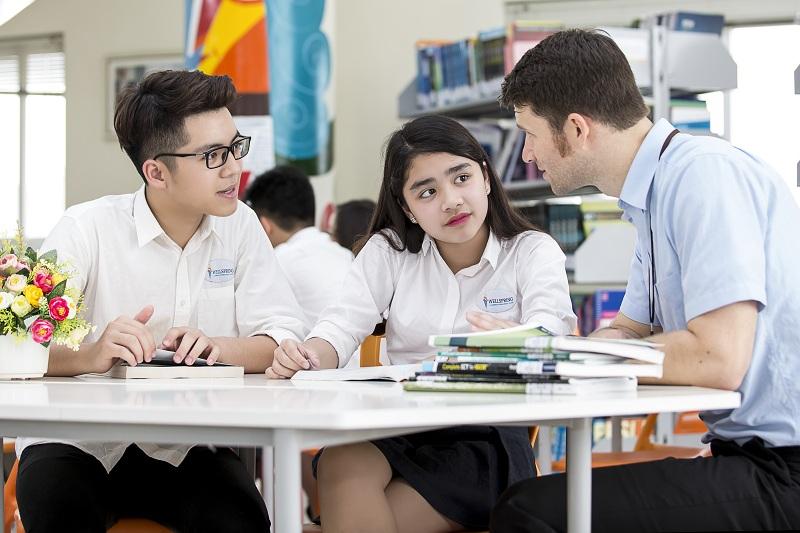 Giáo viên có trình độ cao dạy tại Trường Phổ thông song ngữ liên cấp Wellspring Hà Nội