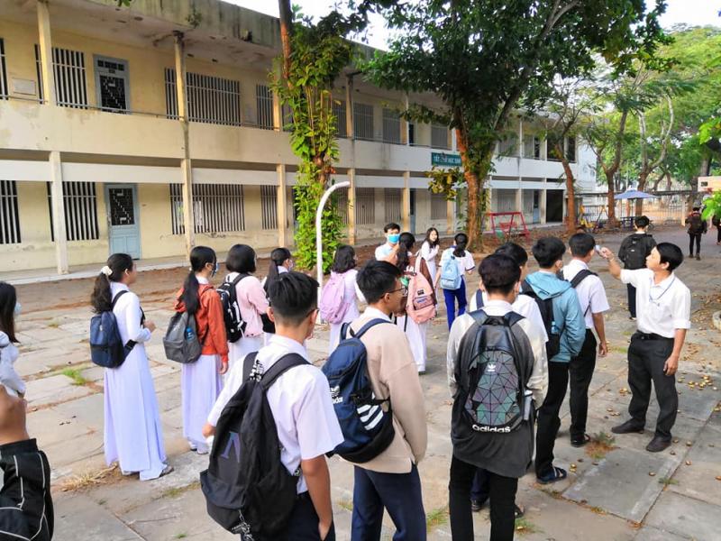 Trường Thực hành Sư phạm tiền thân là cơ sở Thực hành Sư phạm thuộc Trường Trung học Sư phạm.