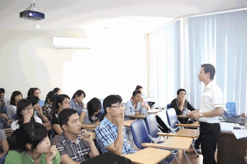 Lớp học tiếng Nhật miễn phí do trường Quốc tế Đông Dương hợp tác với Công ty TMDS tổ chức