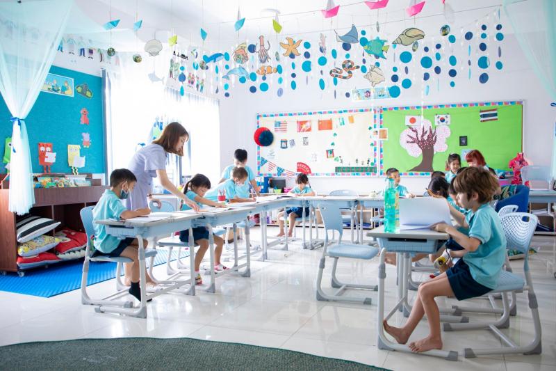 Học tập và vui chơi ở Saigon Star - Nguồn: Sưu tầm