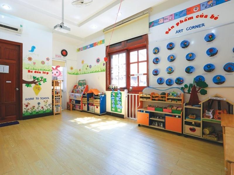 Một góc của Trường Quốc tế Việt Úc - Cơ sở Lê Quý Đôn