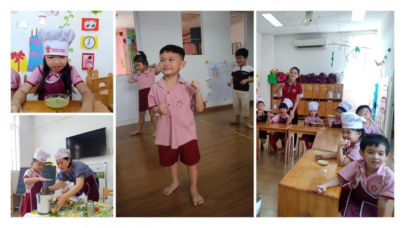 Trường Saigon Academy Nguyễn Thái Bình