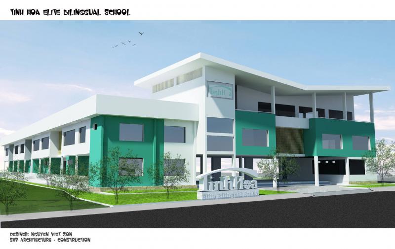 Trường Mầm Non - Tiểu Học Song Ngữ Tinh Hoa đã khẳng định thương hiệu tại An Giang