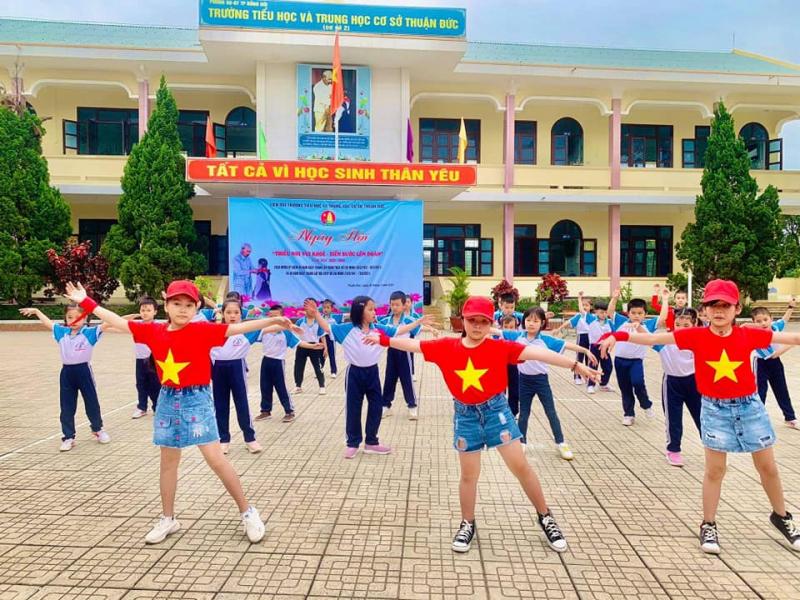 Trường TH&THCS Thuận Đức